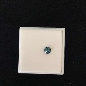 NWT Loose Approx:0.50CT Blue Diamond.